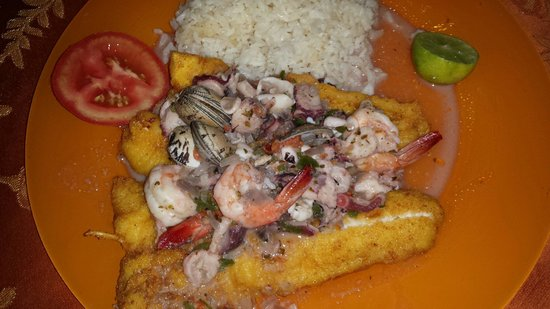 carmita: fish with sea food