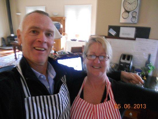 Newcastle's Bed & Breakfast: Sue & Phil