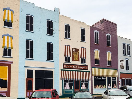 Wabash, IN: Mural at Free Downtown Public Parking