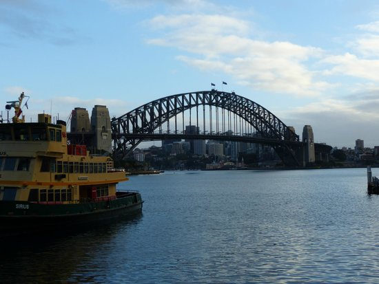 Travelodge Hotel Sydney Martin Place : Harbour view