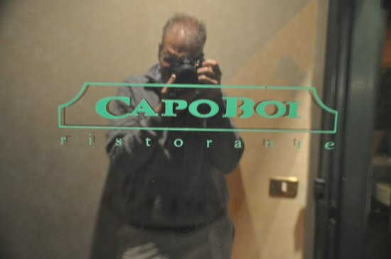 Capo Boi: Entrance to the restaurant