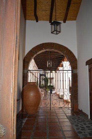 Hotel Killa Cafayate : la entrada
