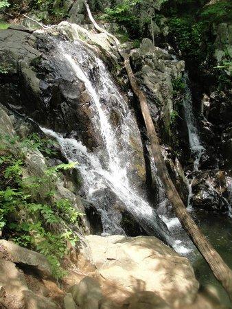 Lewis Mountain Cabins: Waterfall