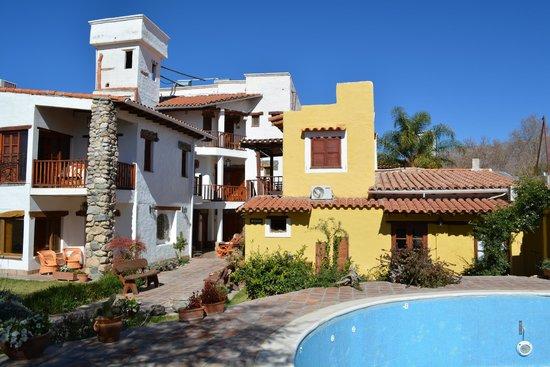 Hotel Killa Cafayate : el patio