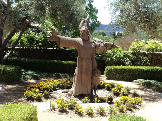 St. Francis Winery and Vineyards : St Francis inspiration