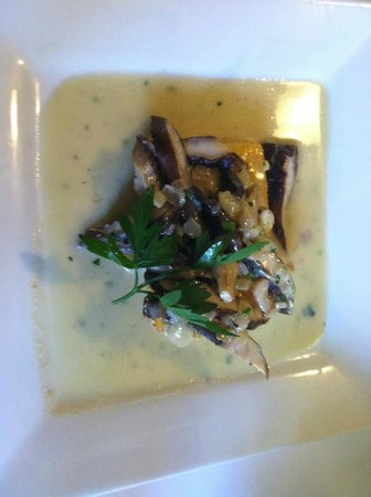 Riviera Restaurant: Polenta with mushroom cream source