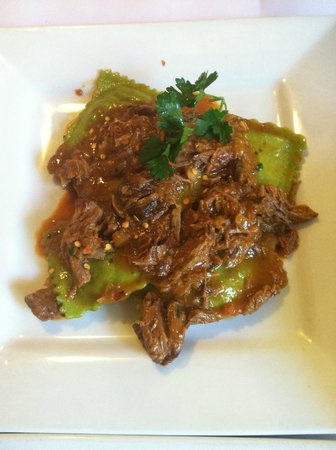 Riviera Restaurant: lamb ravioli