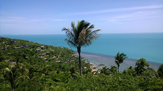 Four Seasons Resort Koh Samui Thailand: Birds eye view of the resort