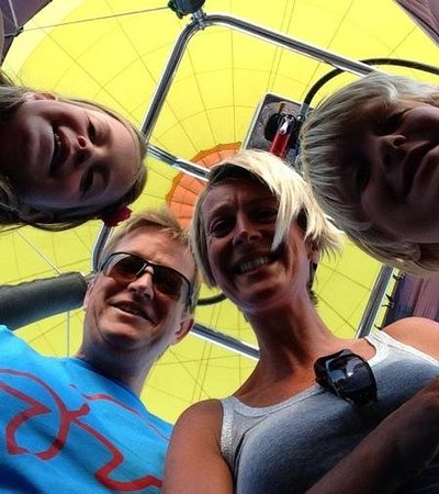 2 Fly Us Hot Air Balloon Rides - Private Flights : selfie