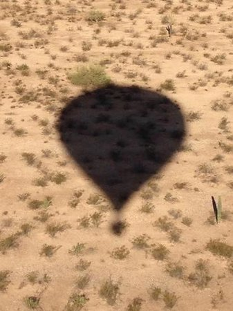 2 Fly Us Hot Air Balloon Rides - Private Flights: shadow