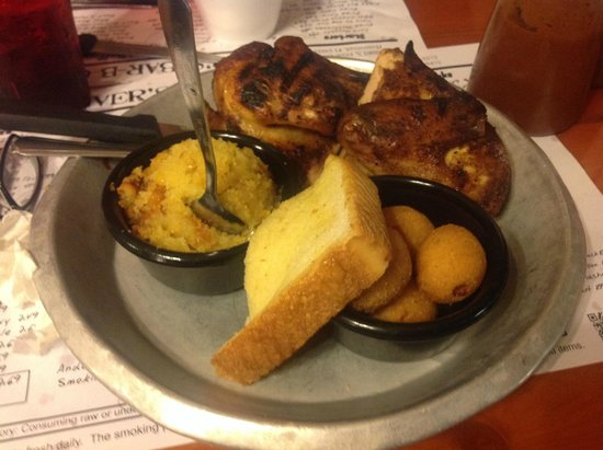 Shiver's Bar-B-Q: Awesome dinner!