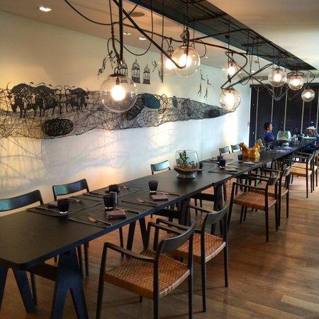 Tenface Bangkok : Dining room