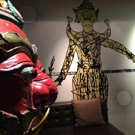 Tenface Bangkok: Lobby Deco