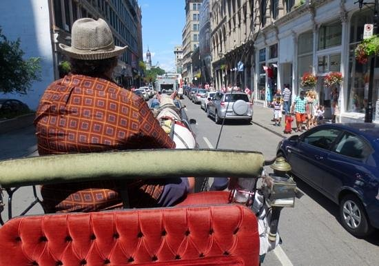 Old Montreal: Take a carriage ride