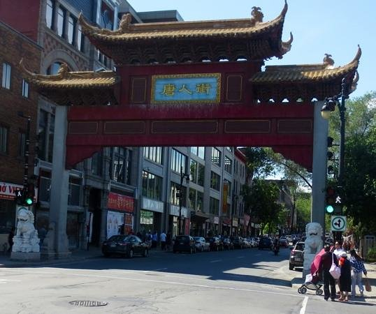 Old Montreal: Walk a block or two to get to Chinatown