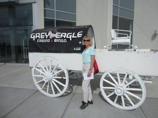 Grey Eagle Resort & Casino: Entrance to the Grey Eagle Resort