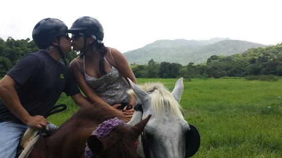 Carabali Rainforest Park: 2 Hour Horse back riding tour... loved it!!