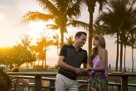 Cable Beach Club Resort & Spa: Cable Beach Sunsets from the resort's Sunset Bar & Grill