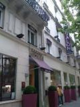 Avalon Hotel Paris: 外観