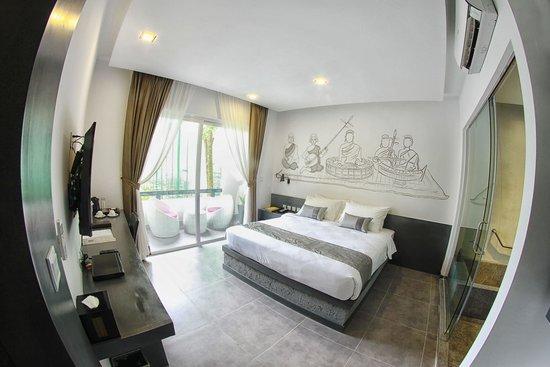 TEAV Boutique Hotel: TEAV Suite Bed