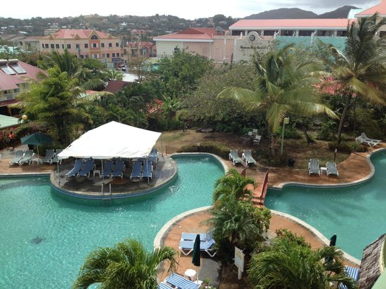 Coco Palm Resort: View from our Honeymoon Suite