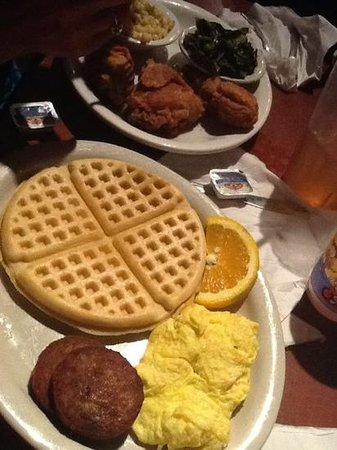 Gladys Knight & Ron Winan's Chicken And Waffles : #9 & Uncle Ron's
