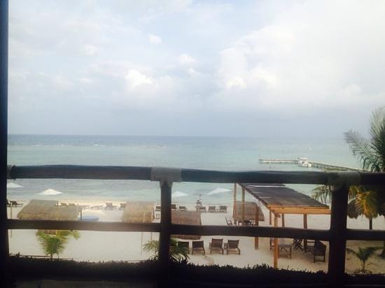 Koox Quinto Sole Boutique Hotel: vista desde la terraza de la habitación