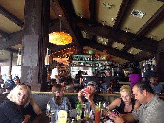 C-Level Lounge : Dining Room - 'C-Level' Lounge Restaurant on Shelter Island - San Diego, CA