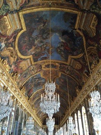 Château de Versailles : 鏡の回廊