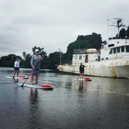 High Water Stand Up Paddle