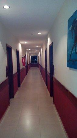 Grande Hotel Serra Negra: Corredor do Terceiro andar