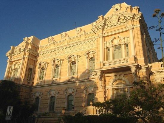 Paseo de Montejo : Los colores al amanecer me impresionaron