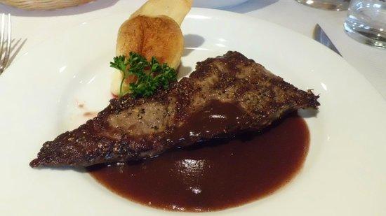 Le Bistro du Sommelier : Beef steak
