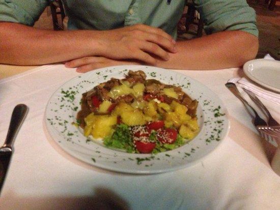 Thea Restaurant: Штука, как называется не помню не плохая, но мусака лучше! Похож на русский гуляж