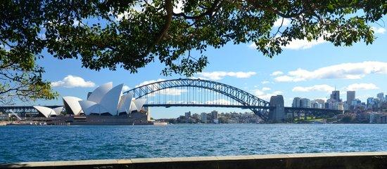 Radisson Blu Plaza Hotel Sydney: Harbour bridge and the Opera house