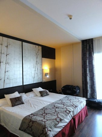 Hotel Paseo del Arte : Comfortable beds, clean room and bathroom.