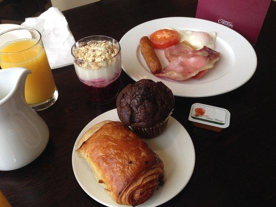 Carlton Hotel Dublin Airport: La colazione