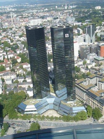 Main Tower: Aussicht - Deutsche Bank