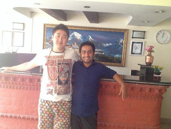 Kathmandu Home Hotel: Mohan
