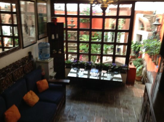 La Casa Azul : Pasillo entre pisos