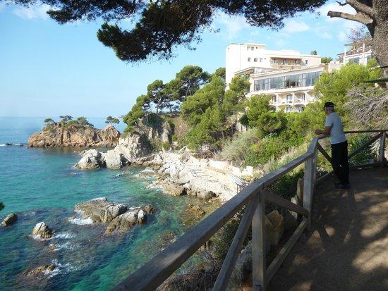 Silken Park Hotel San Jorge : vue de l'hôtel