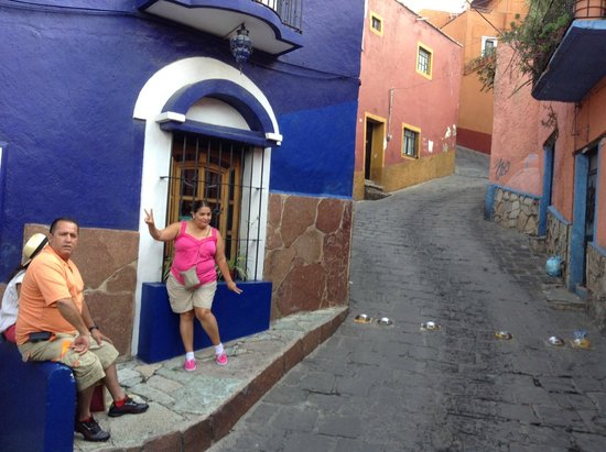 La Casa Azul : Calle