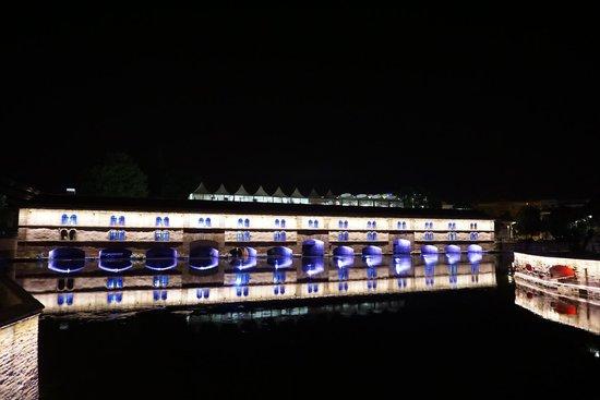 Strasbourg Pont Couverts : Le Barrage Vauban (Vauban Weir) Strasbourg France
