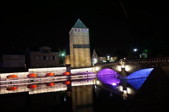 Strasbourg Pont Couverts : Le Barrage Vauban (Vauban Weir) watch Tower Strasbourg France