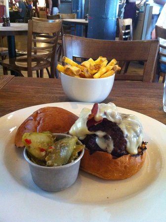Sophie's Steakhouse - Covent Garden : 10 once di hamburger