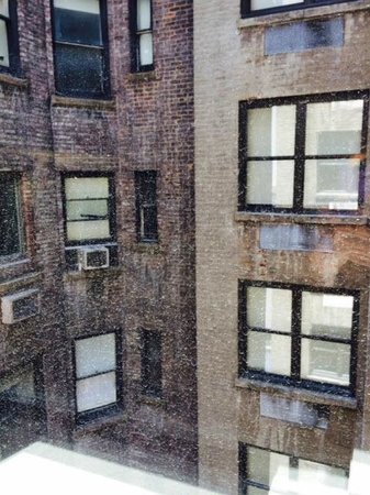 Shoreham: View from our Room - but it is Manhattan!