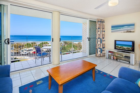 Amazing ocean views from every room at Capeview Apartments.