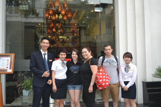 Church Boutique Hotel Hang Trong: friendly