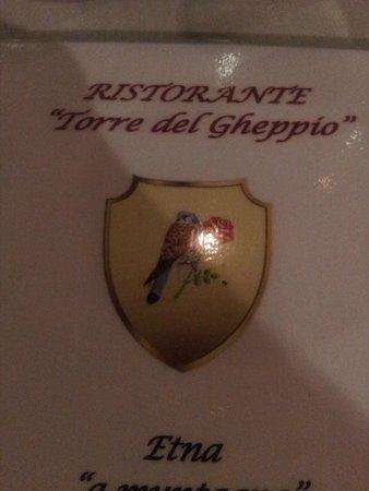 Piedimonte Etneo, Italie: Menù