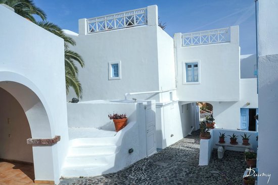 Aethrio Hotel: les terrasses